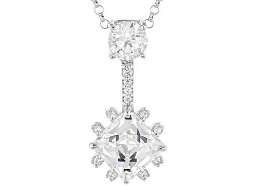 Photo of Tycoon For Bella Luce ® 3.87ctw Diamond Simulant Platineve® Pendant With Chain
