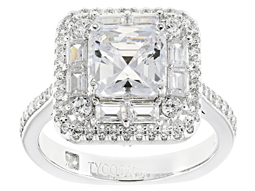 Photo of Tycoon For Bella Luce ® 5.17ctw Diamond Simulant Platineve® Ring (3.83ctw Dew) - Size 11
