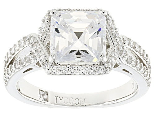 Photo of Tycoon For Bella Luce ® 5.37ctw Diamond Simulant Platineve® Ring (3.57ctw Dew) - Size 8
