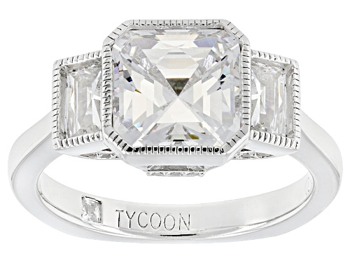 Photo of Tycoon For Bella Luce ® 5.75ctw Diamond Simulant Platineve® Ring (3.76ctw Dew) - Size 10