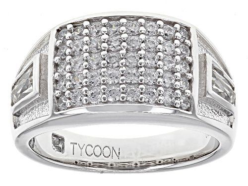 Photo of Tycoon For Bella Luce ® 2.00ctw Diamond Simulant Platineve® Ring (1.10ctw Dew) - Size 7