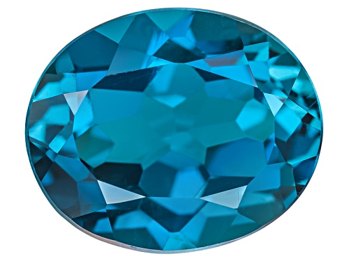 Photo of London blue topaz min 4.00ct 11x9mm oval