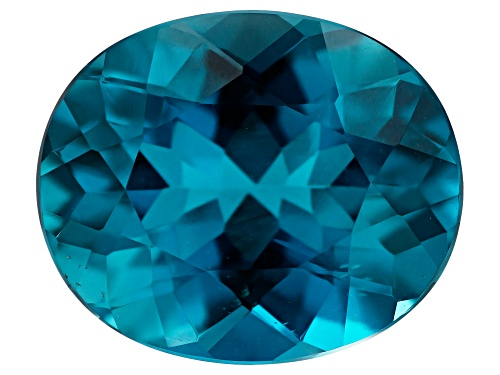 Photo of London blue topaz min 5.50ct 12x10mm oval