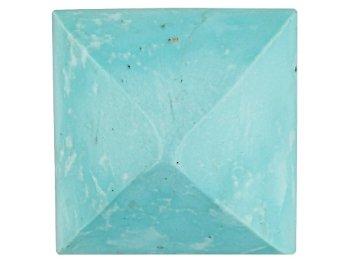 Photo of Sleeping Beauty Turquoise Average 10.00ct 12mm Square Sugarloaf Cut