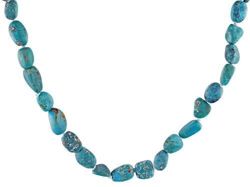 Photo of Tehya Oyama Turquoise™ 7-8mm Blue/Green Chinese Turquoise Nugget Endless Strand Necklace - Size 36
