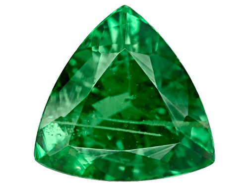 Photo of Tanzanian Tsavorite Garnet .55ct Minimum 6mm Trillion