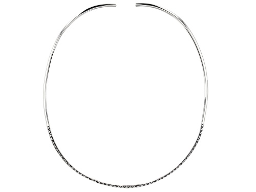 Photo of Global Destinations™ Sterling Silver Collar Necklace - Size 20