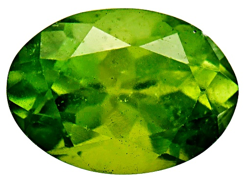 Photo of Kenyan Green Vesuvianite Min .75ct 7x5mm Oval