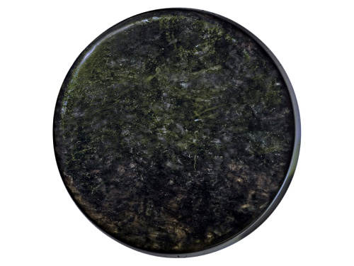 Photo of Mexican Velvet Obsidian Avg 15.50ct 20mm Round Cabochon