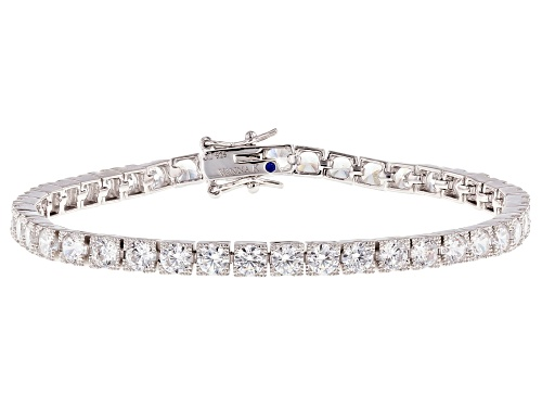 Photo of Vanna K™ For Bella Luce® 18.45ctw Platinum Plated Sterling Silver Tennis Bracelet - Size 7.5