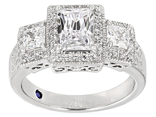 Photo of Vanna K For Bella Luce 4.68ctw Platineve®Ring - Size 10