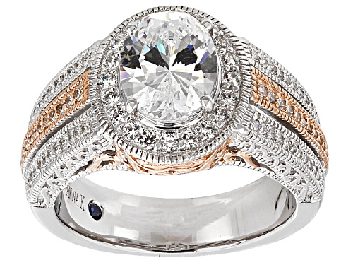 Photo of Vanna K ™ For Bella Luce ® 5.16ctw Oval & Round Platineve ™ & Eterno ™ Ring - Size 7