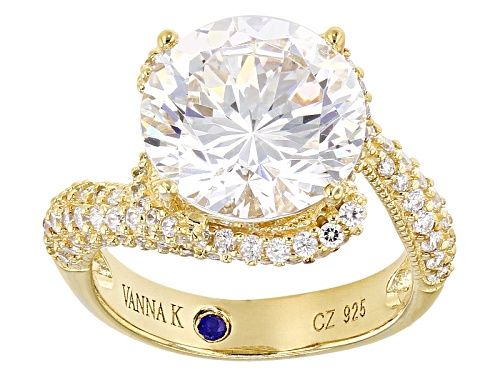 Photo of Vanna K ™ For Bella Luce ® 9.85ctw Round Eterno ™ Vanna K Cut Ring - Size 8