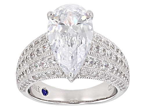 Photo of Vanna K ™ For Bella Luce ® 6.73ctw Platineve® Ring (4.46ctw Dew) - Size 9