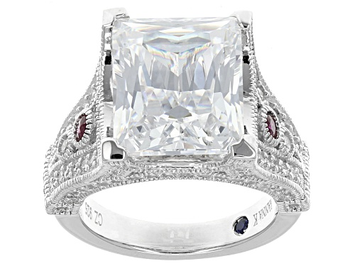 Photo of Vanna K ™ For Bella Luce ® 8.03ctw Diamond Simulant & Lab Created Ruby Platineve® Ring - Size 7