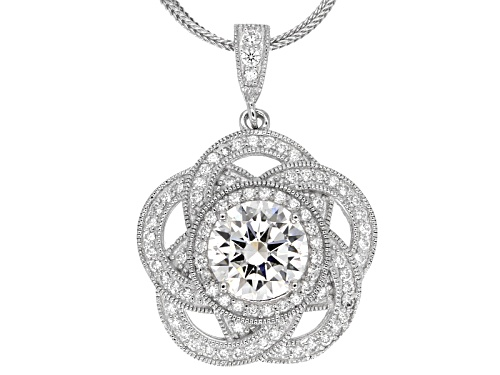 Photo of Vanna K ™ For Bella Luce ® 5.25ctw Round Platineve® Pendant With Chain