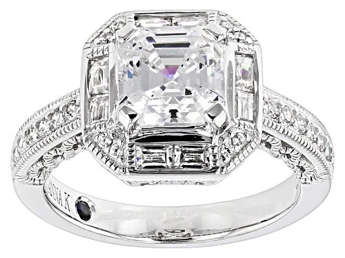 Photo of Vanna K ™ For Bella Luce ® 3.94ctw Platineve® Ring (2.66ctw Dew) - Size 8