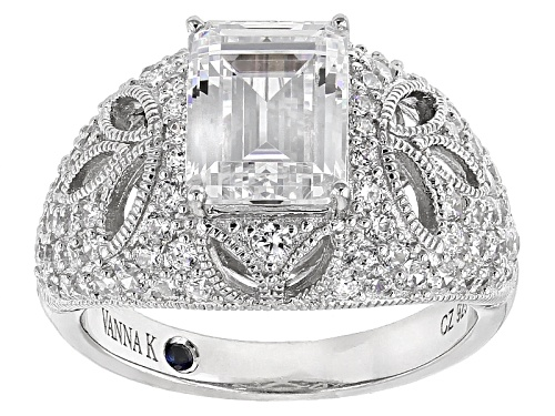 Photo of Vanna K ™ For Bella Luce ® 5.20ctw Platineve® Ring (3.89ctw Dew) - Size 8