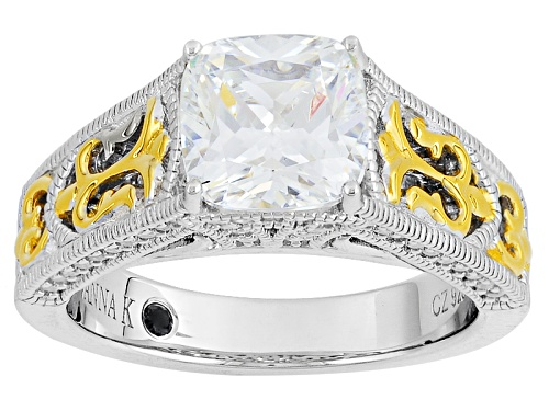 Photo of Vanna K ™ For Bella Luce ® 2.66ctw Platineve ™ And Eterno ™ Yellow Ring (1.59ctw Dew) - Size 9