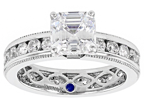 Photo of Vanna K ™ For Bella Luce ® 5.45ctw Platineve ™ Ring (3.34ctw Dew) - Size 9