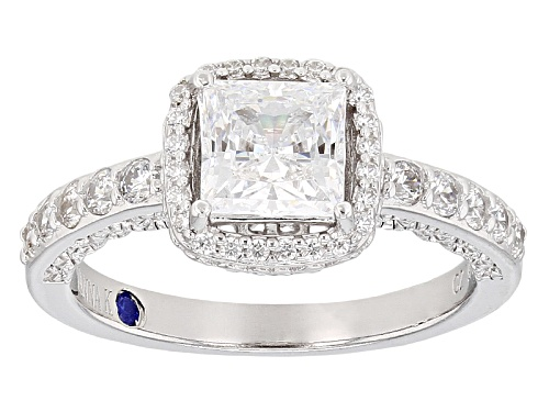 Photo of Vanna K ™ For Bella Luce ® 2.51ctw Platineve® Ring (1.75ctw Dew) - Size 10