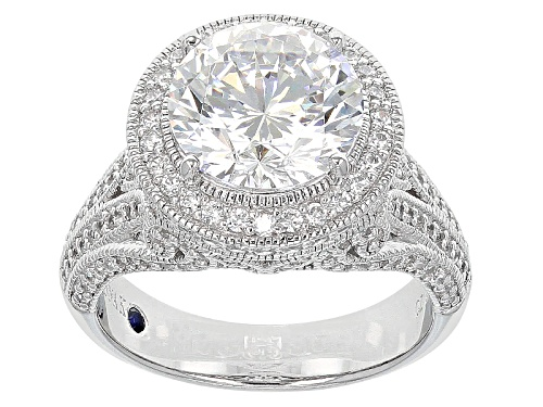 Photo of Vanna K ™ For Bella Luce ® 7.72ctw Platineve® Ring (4.86ctw Dew) - Size 9