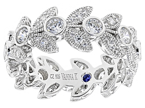 Photo of Vanna K ™ For Bella Luce ® 2.77ctw Platineve ™ Ring (1.65ctw Dew) - Size 8