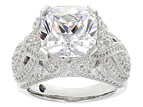 Photo of Vanna K ™ For Bella Luce ® 12.39ctw Platineve ™ Ring (6.39ctw Dew) - Size 5