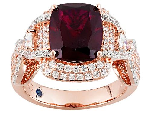 Photo of Vanna K™For Bella Luce ®5.75ctw Lab Created Ruby & White Diamond Simulant Eterno™Rose Ring - Size 8