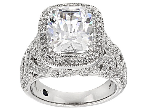 Photo of Vanna K ™ For Bella Luce ® 8.09ctw Platineve® Ring (5.88ctw Dew) - Size 6