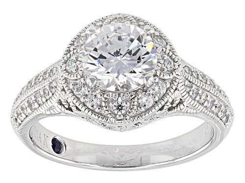Photo of Vanna K ™ For Bella Luce ® 2.67ctw White Diamond Simulant Platineve® Ring (1.68ctw Dew) - Size 10