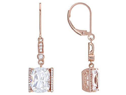Photo of Vanna K ™ For Bella Luce ® 10.77ctw Diamond Simulant Eterno™ Rose Earrings (7.77ctw Dew)
