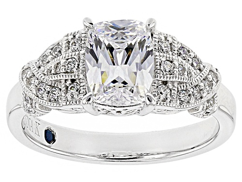 Photo of Vanna K ™ For Bella Luce ® 2.53ctw White Diamond Simulant Platineve ™ Ring (1.98ctw Dew) - Size 10