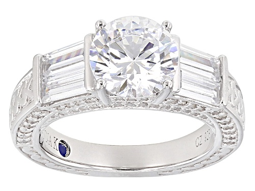 Photo of Vanna K ™ For Bella Luce ® 5.26ctw Platineve® Ring (3.50ctw Dew) - Size 8