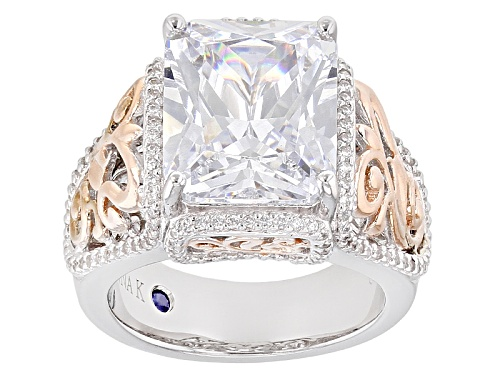 Photo of Vanna K ™ For Bella Luce ® 8.85ctw Platineve ™ And Eterno ™ Rose Ring (6.37ctw Dew) - Size 10