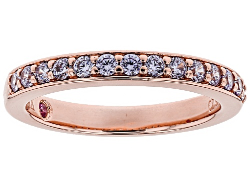 Photo of Vanna K ™ For Bella Luce ® .77ctw Lavender Simulant Eterno ™ Rose Ring (.42ctw Dew) - Size 7