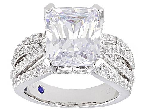 Photo of Vanna K ™ For Bella Luce ® 12.91ctw White Diamond Simulant Platineve® Ring (7.18ctw Dew) - Size 8
