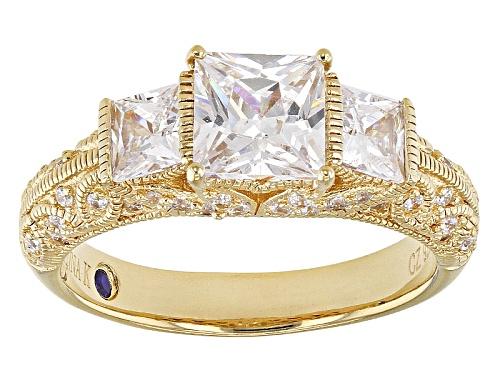 Photo of Vanna K ™ For Bella Luce ® 3.28ctw White Diamond Simulant Eterno ™ Yellow Ring - Size 9