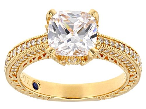 Photo of Vanna K ™ For Bella Luce ® 4.61ctw Diamond Simulant Eterno ™ Yellow Ring (2.63ctw Dew) - Size 7