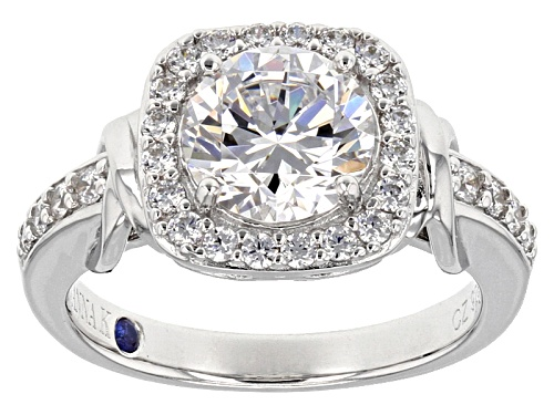 Photo of Vanna K ™ For Bella Luce ® 3.82CTW Diamond Simulant Platineve® Ring - Size 8
