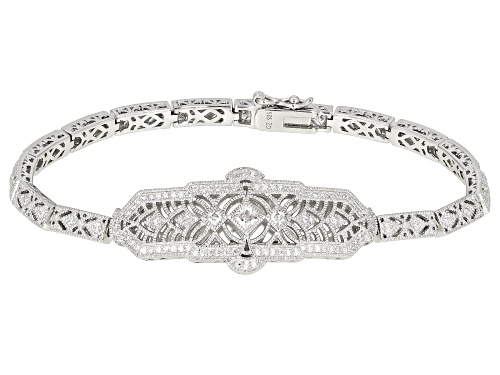 Photo of Vanna K ™ For Bella Luce ® 1.37CTW White Diamond Simulant Platineve ™ Bracelet (0.84CTW DEW) - Size 8