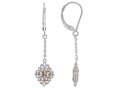 Photo of Vanna K™ for Bella Luce ® Platineve ® and Eterno™ Rose Earrings