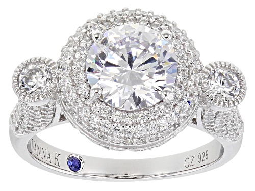 Photo of Vanna K ™ For Bella Luce ® 5.24ctw Platineve™ Ring (3.32ctw DEW) - Size 9