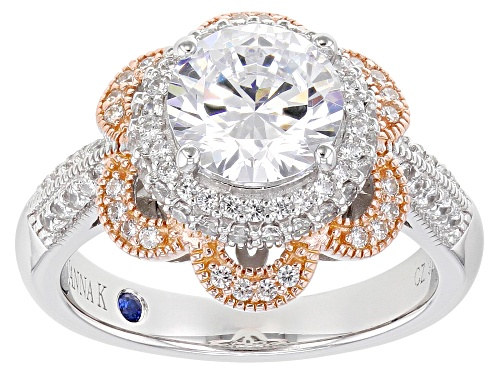 Photo of Vanna K ™ For Bella Luce ® 4.06ctw Platineve ™ Ring (2.69ctw DEW) - Size 10