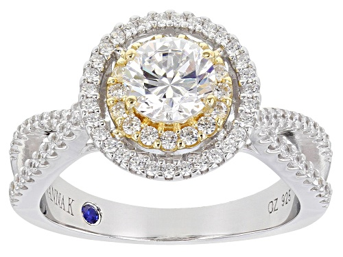 Photo of Vanna K ™ For Bella Luce ® 2.51ctw Platineve  ® Ring (1.51ctw DEW) - Size 9