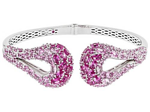 Photo of Kolore By Vanna K ™ 17.10ctw Pink Sapphire & Pink Tourmaline Simulants Platineve® Bracelet - Size 7
