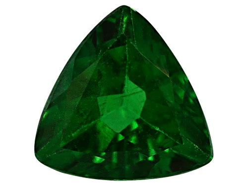Photo of Tanzanian Tsavorite garnet min 0.35ct 5mm trillion