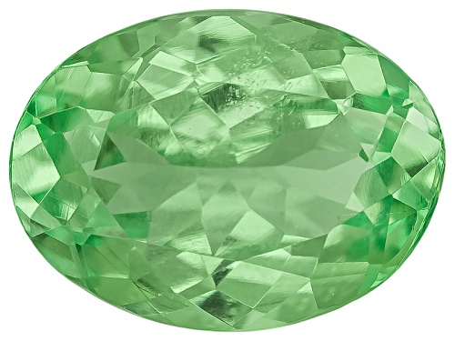 Photo of Tanzanian Mint Tsavorite Garnet-Fluorescent 1.10ct 7.5x5.5mm Oval