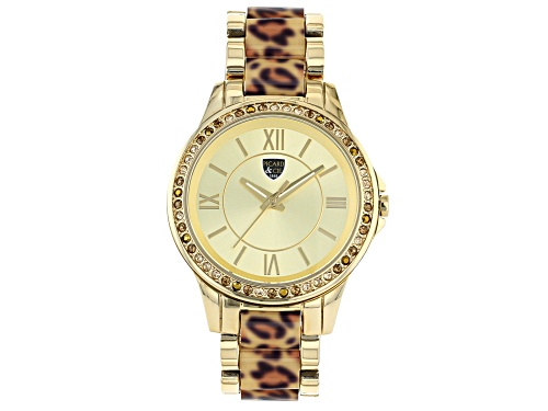Photo of Picard And Cie Casual Leopard Print With Gold Dial Ladies Watch