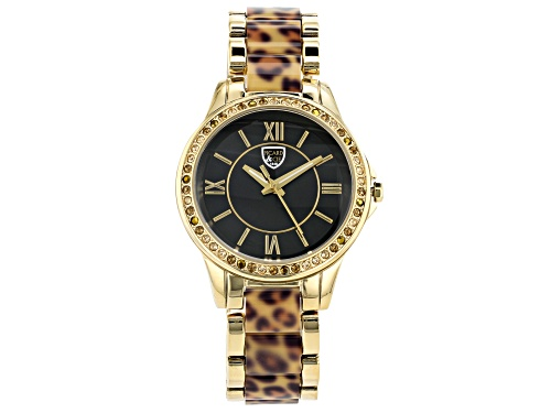 Photo of Picard And Cie Casual Leopard Print With Black Dial Ladies Watch
